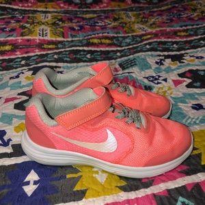 13 little girls Nike's worn maybe 3 times